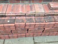 Redland Farmhouse Red used concrete plain roof tiles