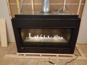 Linear Fireplace Clearence