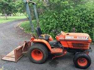 Kubota B1750 HST Tractor + Attachments Canungra Ipswich South Preview