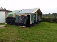 2005 Conway Challenger Folding Camper with full awning; skirts and annexe