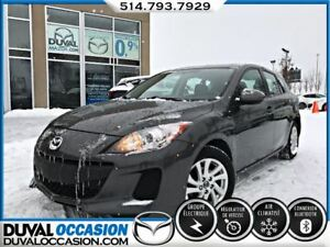 2013 Mazda MAZDA3 GX + GR. COMMODITÉ + BLUETOOTH