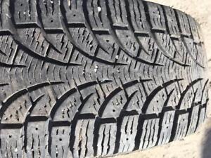1 pneus d hiver 195/55r15 pirelli