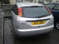 FORD FOCUS 1.8, 12 MONTHS MOT PRIVATE PLATE K17 JOD FOR A JODIE OR A KIT CAR :)