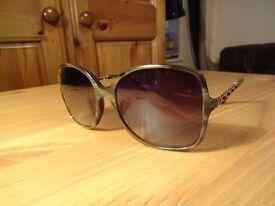 100% Authentic CHANEL 5210q c6173b Brown Prestige Sunglasses {serial on lens}