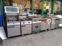 TWIN TANK GAS FRYER CATERING COMMERCIAL FAST FOOD KITCHEN BBQ SHOP RESTAURANT BAR SHOP