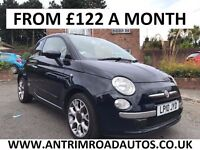 2010 FIAT 500 LOUNGE 1.2 ** 33,000 MILES ** FINANCE AVAILABLE ** ALL CARDS ACCEPTED