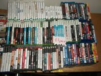 VIDEO GAMES AND BLU-RAYS £1 EACH
