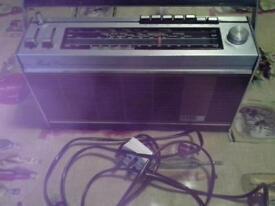 Decca retro portable radio