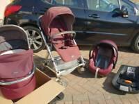 Mamas and papas urbo2 pushchair set