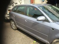 06 AUDI A3 2.0 TDI MANUAL THIS CARS FOR BREAKING FOR ANY PARTS CALL ON