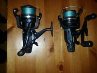 2 x shimano st 10000rb baitrunners for sale