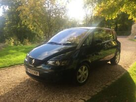 Renault Avantime Privilege 3.0L Manual, Scarab Green with Cream Leather. Believed to be the only One