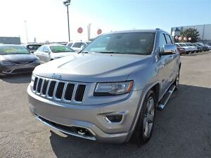 2014 Jeep Grand Cherokee OVERLAND,CRUISE ADAPTATIF,NAV,TOIT PANO West Island Greater Montréal image 1