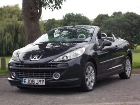 Peugeot 207 convertible sport 2008 excellent condition look and drive. Nice