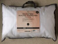 M&S Microfibre Quilted Surround Pillow