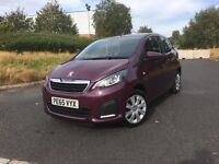 "2015 (65) PEUGEOT 108 ACTIVE 1.0 PETROL 3DR ""£0 ANNUAL ROAD TAX + DRIVES LIKE NEW + MUST BE SEEN"""