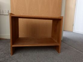 Shelving unit, small, varnished