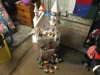 "Dolls House ""Enchanted Fairy Castle""With figurines"