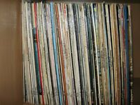 Vintage collection of 1960's,70's and 80's vinyl LPs.