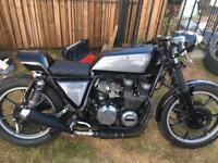 Kawasaki gt550 z550 cafe racer