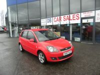 2007 57 FORD FIESTA 1.2 ZETEC CLIMATE 16V 5D 78 BHP **** GUARANTEED FINANCE **** PART EX WELCOME