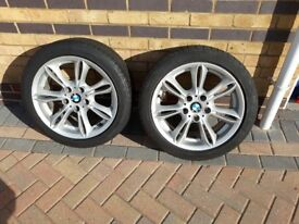 BMW 17 inch from a Z4 will fit 3 Series 2 available to
