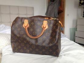 Genuine Louis Vuitton speedy 30 handbag