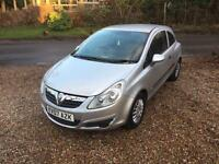 VAUXHALL CORSA 1.2 DIESEL 2007 1 YEARS MOT LOOKS AND DRIVES PERFECT. NEW SHAPE.