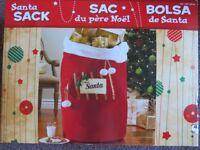 Christmas Decoration Santa sack oversized - NEW