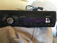 Sony car cd/radio