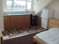 Recently refurbished 1 bedroom studio flat situation in ls8 available now