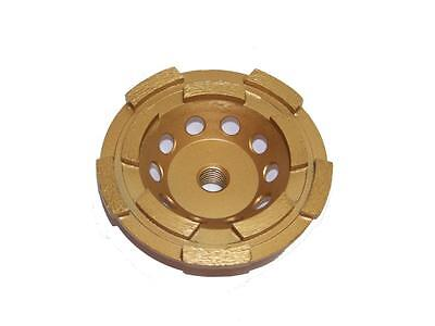 4-12 Diamond Grinding Cup Wheel 5060 Grit Dry Shaping Smoothing Concrete