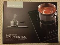 Lakeland Smart Touch Electric Portable Induction Hob (1 Ring- 70 to 240°C)
