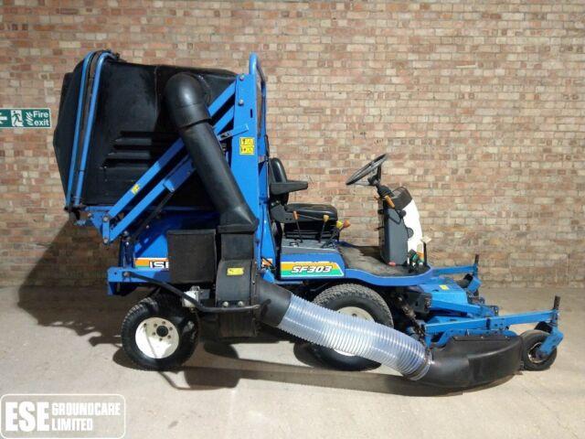 Iseki SF303 Ride on Diesel Mower c/w Collector | in Soham, Cambridgeshire |  Gumtree