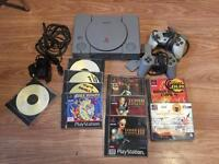 Original Model PSone Games Bundle - In original box - Bargain £40 ono