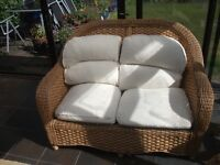 For Sale High quality cane/bamboo conservatory furniture inc matching table