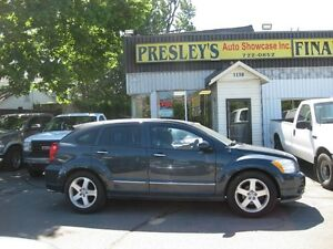 2007 Dodge Caliber R/T AWD,Htd Leather, automatic, 4cyl alloys
