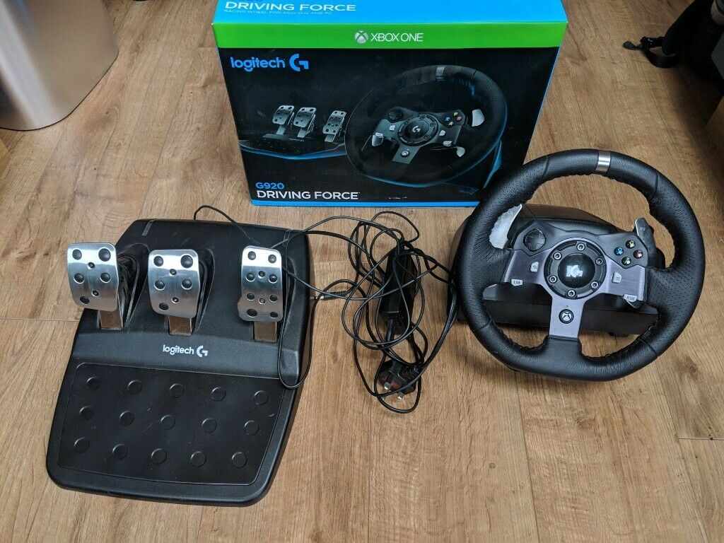 1e36c9ff2fe Logitech G920 Wheel & Pedals with GTEYE Brake Mod | in Colchester ...
