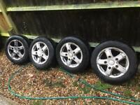 "16"" 5x160 Ford Transit Alloy Wheels Alloys With Tyres"