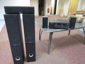 Akai 51.Amplifier & surround speaker system