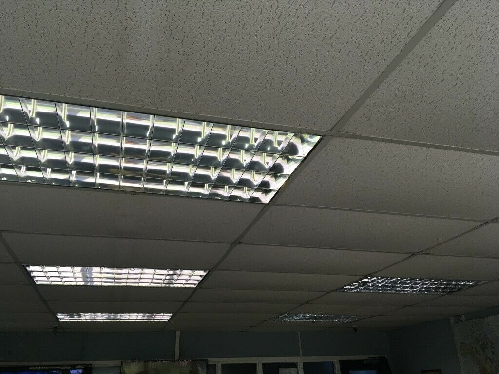 Suspended Ceiling Lighting Diffusers 1200 X 600mm Shelly Lighting