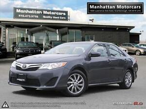 2012 TOYOTA CAMRY LE 4 CYLINDER |1 OWNER|ALLOYS|BLUETOOTH|LOADED