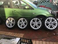 Audi S1 Quattro alloys