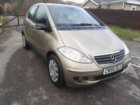 2006 (56) Mercedes A150 W169 1.5 Petrol Long MOT 53K Family Car 5dr Gold A class FSH 2 keys