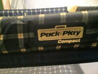 Graco Pack and Play Compact Travel Cot BARELY USED