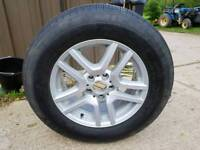 "bmw 17"" brand new wheel and tyre"