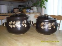 Denby Oven to Table Caserole Pots