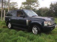 *** Range Rover vogue 2005 swap px car van ***