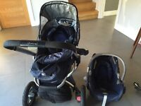 Quinny travel system pram and car seat