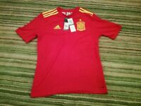 Spain Adidas football shirt size age 15-16 Adidas make brand new with tags